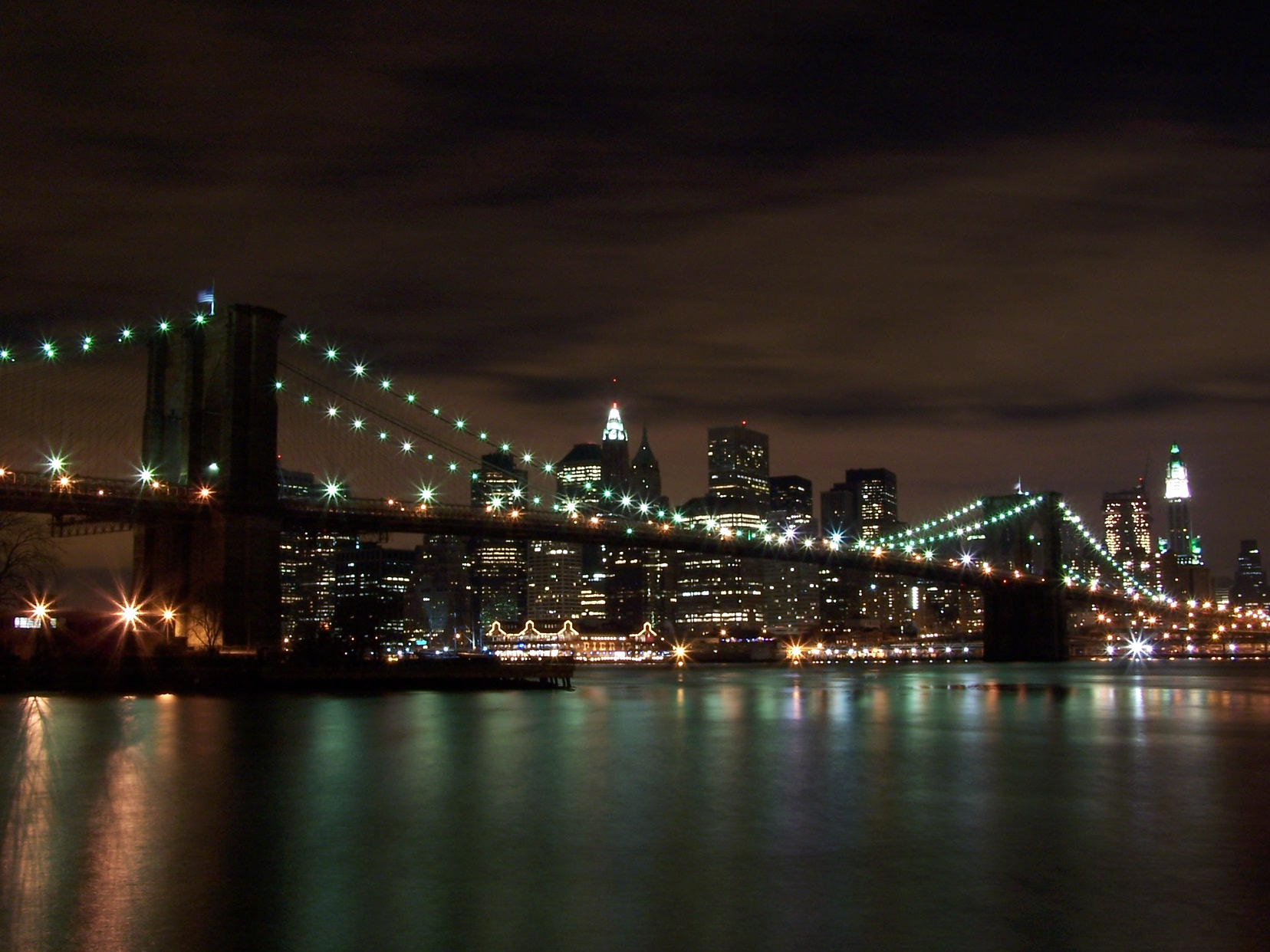 Pin new york notte wallpapers sfondi immagini foto del on for Foto new york notte