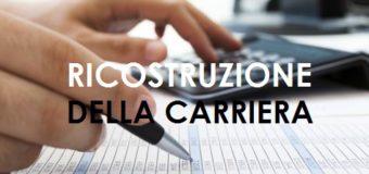 RICORSO RICOSTRUZIONE CARRIERA PER PROGRESSIONE ECONOMICA – personale docente e ATA